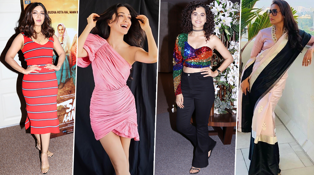 Taapsee Pannu, Rani Mukerji and Kiara Advani's Styling Goes for a Toss This Week - View Pics