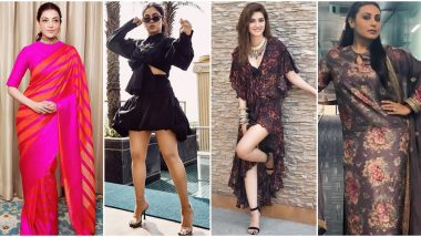 Bhumi Pednekar, Kriti Sanon and Rani Mukerji's Need Some Serious Help with her Fashion Outings (View Pics)