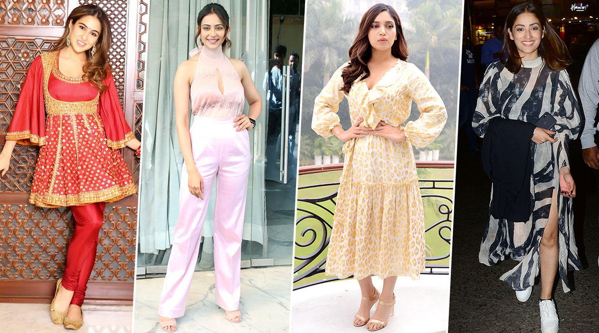 Sara Ali Khan, Bhumi Pednekar and Yami Gautam are Worst-Dressed Celebs of this Week (View Pics)