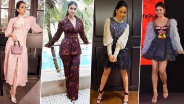 Jacqueline Fernandez, Ileana D'Cruz and Kangana Ranaut are Fashion Culprits of this Week (View Pics)