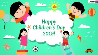 Happy Children's Day 2019 Wishes and Messages: Greetings, Quotes, WhatsApp Stickers, Facebook Status and GIF Images to Share on Bal Divas