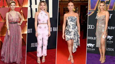 Scarlett Johansson Birthday Special: This MCU Star has a Wardrobe as Powerful as Natasha Romanoff's Kicks (View Pics)