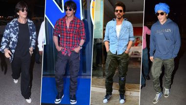 Shah Rukh Khan Birthday Special: Only the 'Raees' Actor Can Dress like a Rahul-Next-Door and Still Look Like a Badshah (View Pics)