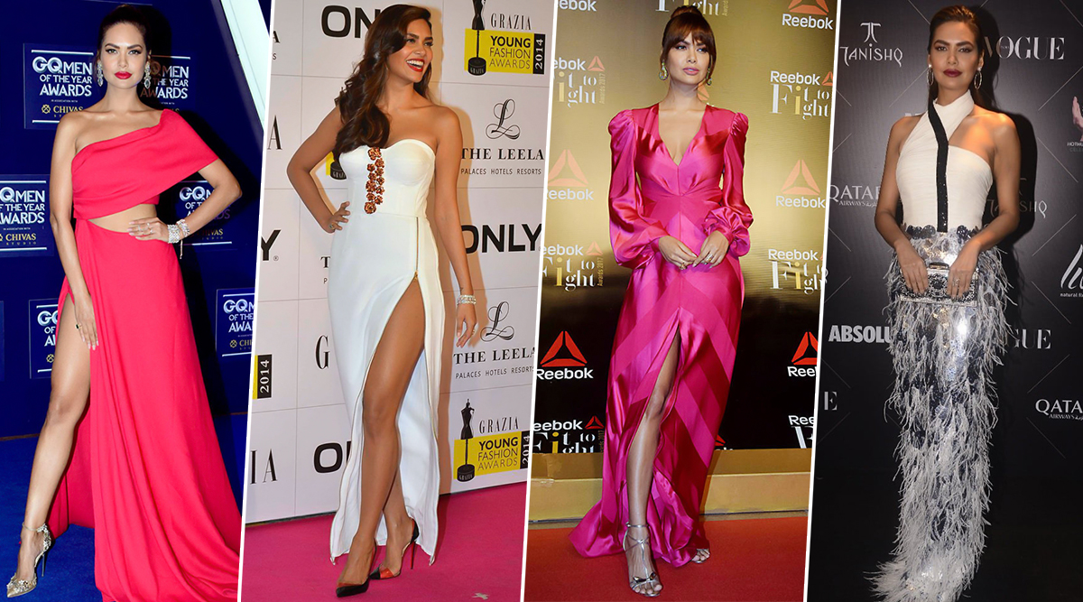 Esha Gupta Birthday Special: 7 of her Best Fashion Outings that Will Make your Jaw Drop (View Pics)