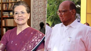 Maharashtra Government Formation: Sonia Gandhi, Sharad Pawar to Meet on November 17 to Firm Up Alliance With Shiv Sena