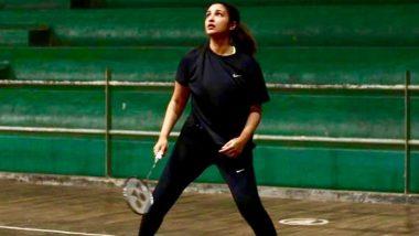 Saina Nehwal Biopic: Parineeti Chopra Resumes Badminton Training After Her Neck Injury, Says 'I'm Back to Full Fitness'
