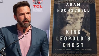 King Leopold's Ghost: Ben Affleck to Direct a Historical Drama Based on Adam Hochschild's Acclaimed Book