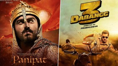 Arjun Kapoor's Panipat Beats Salman Khan's Dabangg 3 to Be the Most Anticipated Indian Movie as per IMDB