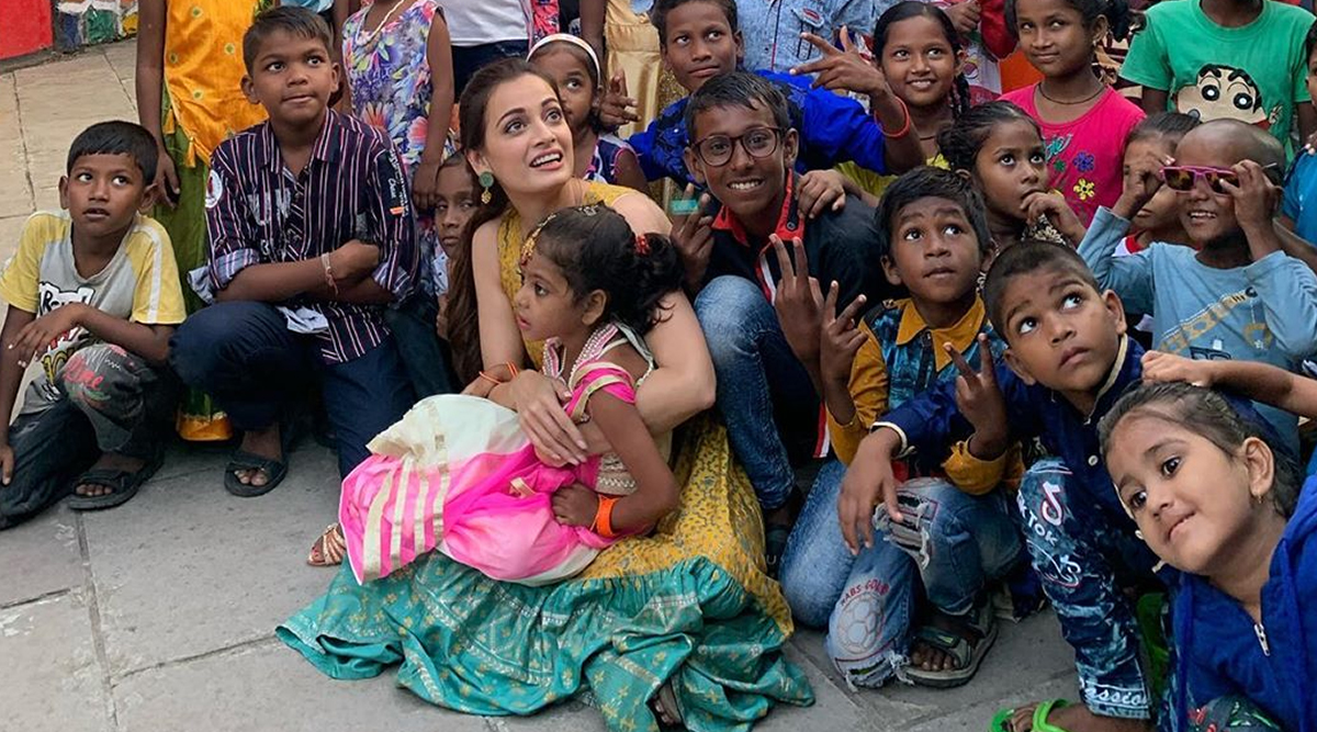 Dia Mirza Promotes 'Exceed Cares' Initiative for Underprivileged Kids, Says 'It Is Nice to Do Work That You Love'