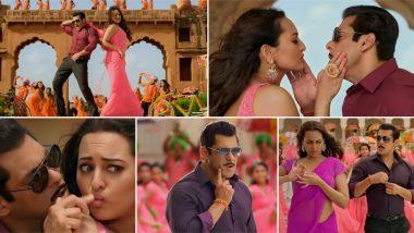 Dabangg 3's Yu Karke Song Video: Salman Khan and Sonakshi Sinha's Naughty Romance as Chulbul Pandey and Rajjo Makes for a Fun Watch