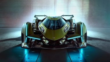 Lamborghini V12 Vision Gran Turismo Concept Car Officially Unveiled