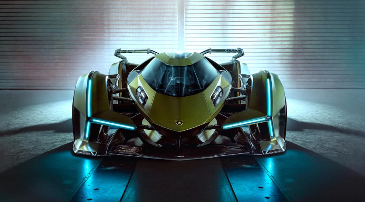 Lamborghini V12 Vision Gran Turismo Concept Car Officially Unveiled