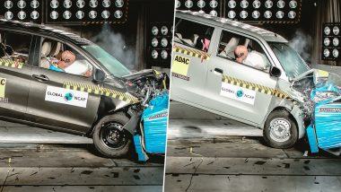 Maruti Ertiga & Maruti Wagon R Crash Test Results Disappointing With 3 Stars & 2 Stars Rating at 2019 Global NCAP