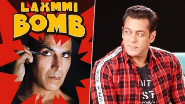 Akshay Kumar Confirms Laxmmi Bomb as his Eid 2020 Release, Will Clash with Salman Khan's Radhe