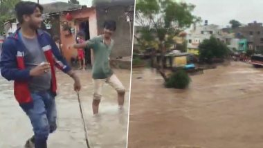 Cyclone Maha: Heavy Rainfall Triggers Flood-Like Situation in Parts of Maharashtra, More Rains Likely in Coming Days