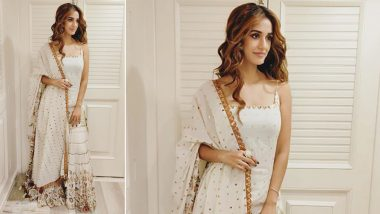 Yo or Hell No: Disha Patani's White Sharara for Radhe's Muhurat Pooja