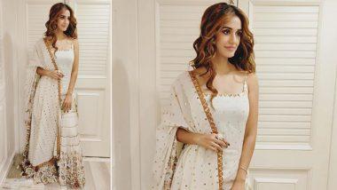 Yo or Hell No: Disha Patani's White Sharara for Radhe's Muhurat Pooja