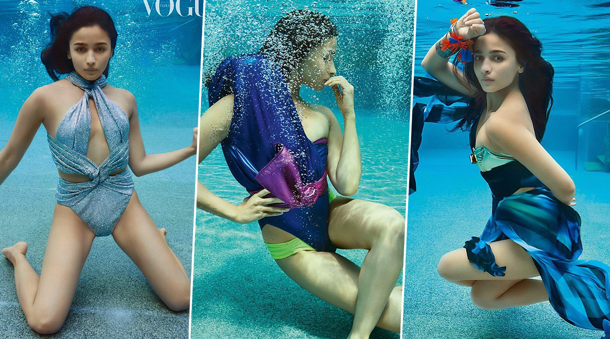 Alia Bhatt Looks Stunning in her New Photoshoot for Vogue India But it's the Creative Team that Takes Brownie Points for Such a Beautiful Theme (View Pics)