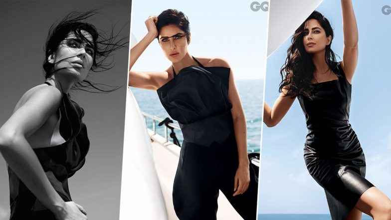 Katrina Kaif is 'That Gorgeous Lady in Black' in her New Photoshoot for GQ India (View Pics)