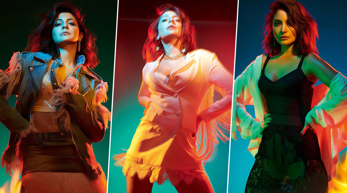 Anushka Sharma is all Glam to Give a Damn in her New Photoshoot for Vogue India (View Pics)