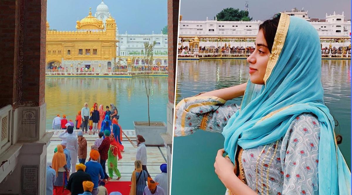 Dostana 2: Janhvi Kapoor Visits Golden Temple Before She Starts Shooting for Kartik Aaryan's Film (View Pic)