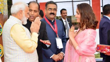 Yami Gautam Is Humbled to Share a Stage with PM Narendra Modi at Global Investors Meet in Himachal