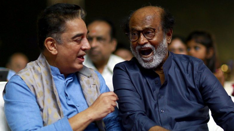 Kamal Haasan on Rajinikanth: 'We Continue to Respect, Criticize and Endorse Each Other despite Different Political Ideology'