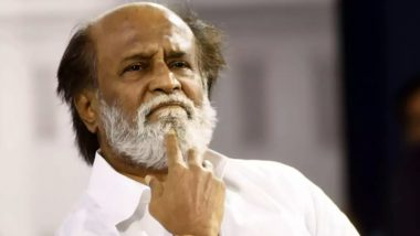 Rajinikanth Wants Water Conservation to Be on All Levels Including Government, Community and Individual Front