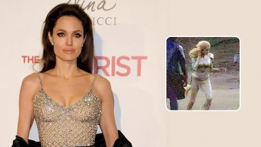 Angelina Jolie's First Look as Thena from Marvel's Eternals Gets LEAKED from the Movie Sets (View Pics)