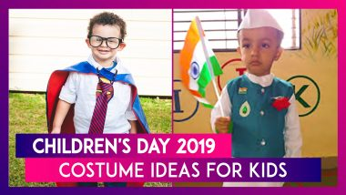 Children's Day 2019: Costume Ideas For Kids For School Functions