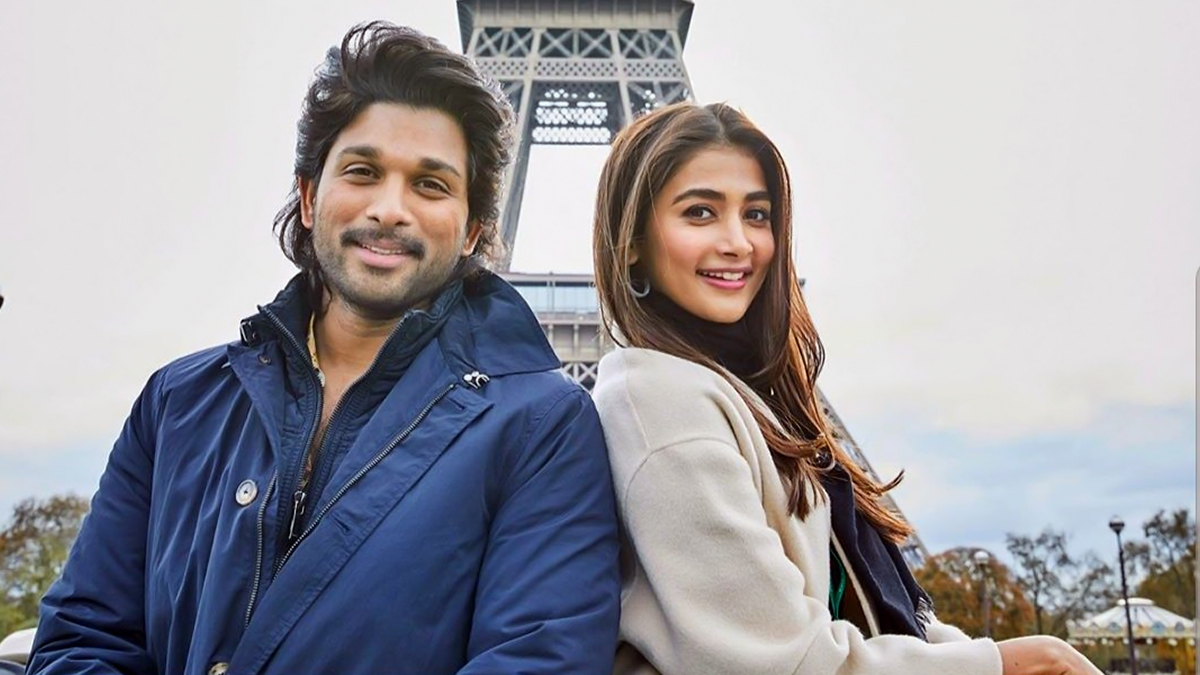 Allu Arjun and Pooja Hegde are Busy Shooting for Ala Vaikunthapuramlo in the City of Love, Paris - View Pic