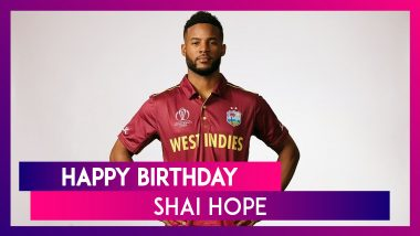 Shai Hope Birthday Special: Lesser-Known Things to Know About West Indies Cricketer