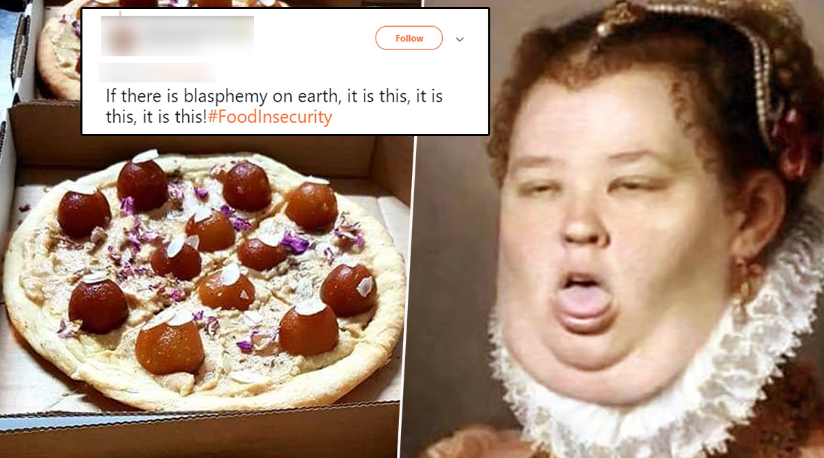 Gulab Jamun Pizza Is Going Viral on Twitter Leaving Disgusted Netizens Say, 'Hey, Satan Called and He Wants His Dinner Back' (Check Funny Memes and Jokes)