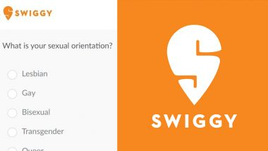 Swiggy Asks for Sexual Orientation of Its Potential Employees? Food Delivery Company Comes Clean With Reply on Twitter