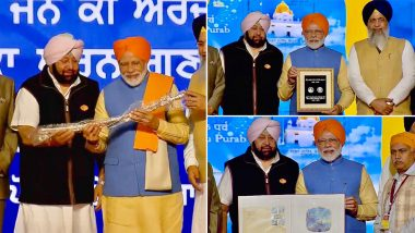 Kartarpur Corridor Inaugurated by PM Narendra Modi Ahead of 550th Birth Anniversary of Guru Nanak Dev, Flags Off First Batch of Over 500 Pilgrims