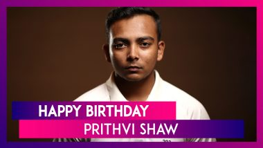 Prithvi Shaw Birthday Special Seven Interesting Facts About Mumbai Batsman As he Turns 20