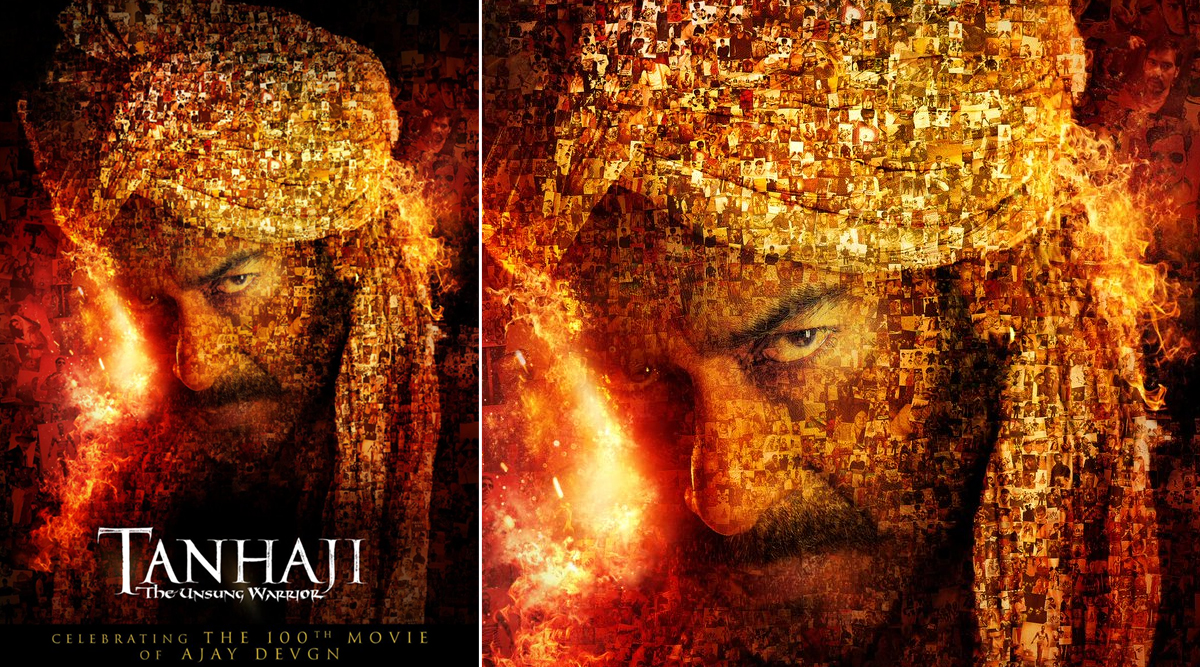 Tanhaji: The Unsung Warrior - Makers Release a New Poster and a Special VideoCelebrating Ajay Devgn's 100th Film in His 30 Year Career