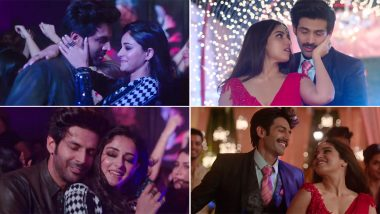 Dheeme Dheeme Song from Pati Patni Aur Woh: Kartik Aaryan, Ananya Panday and Bhumi Pednekar Groove to the Remix of Tony Kakkar's Popular Track
