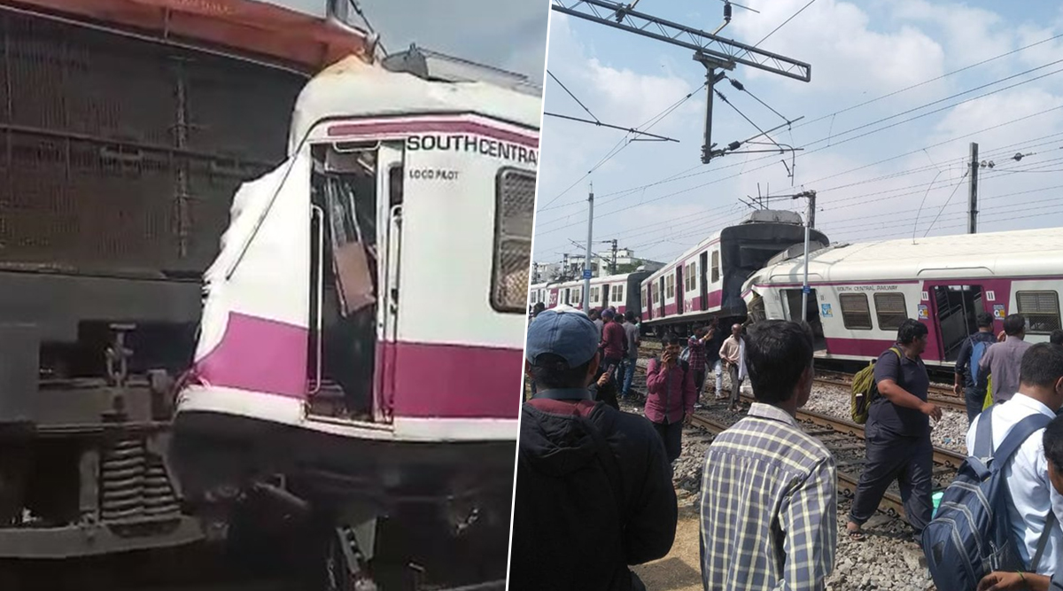 Telangana Train Accident: Coaches of Lingampalli-Falaknuma And Kurnool City-Secunderabad Hundry Express Derailed After Collision at Kacheguda Railway Station, Several Injured