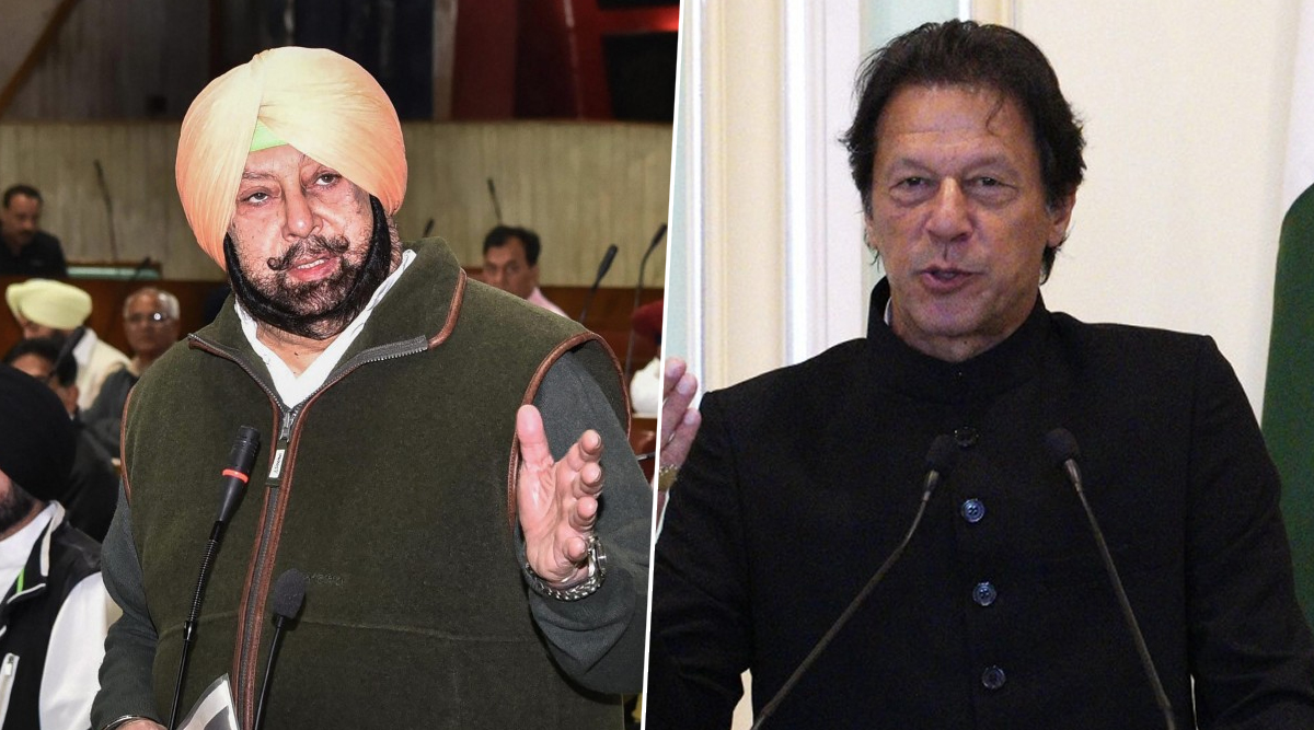 Captain Amarinder Singh Has a Conversation With Pakistan PM Imran Khan During Kartarpur Visit, Watch Video to Know What They Discussed