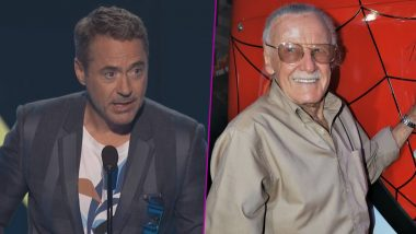 Robert Downey Jr Devotes His People's Choice Award 2019 to Marvel Man Stan Lee