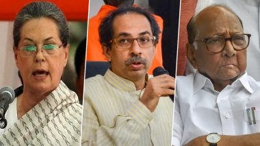 Maharashtra Government Formation Struggle: Shiv Sena Intensifies Efforts to From Alliance With NCP, Congress; Uddhav Thackeray Says 'Talks in Right Direction'