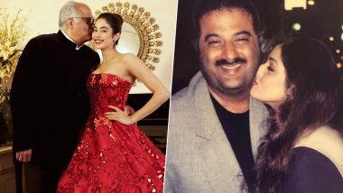 Janhvi Kapoor Wishes Father Boney Kapoor on His 64th Birthday with Unseen Throwback Pics
