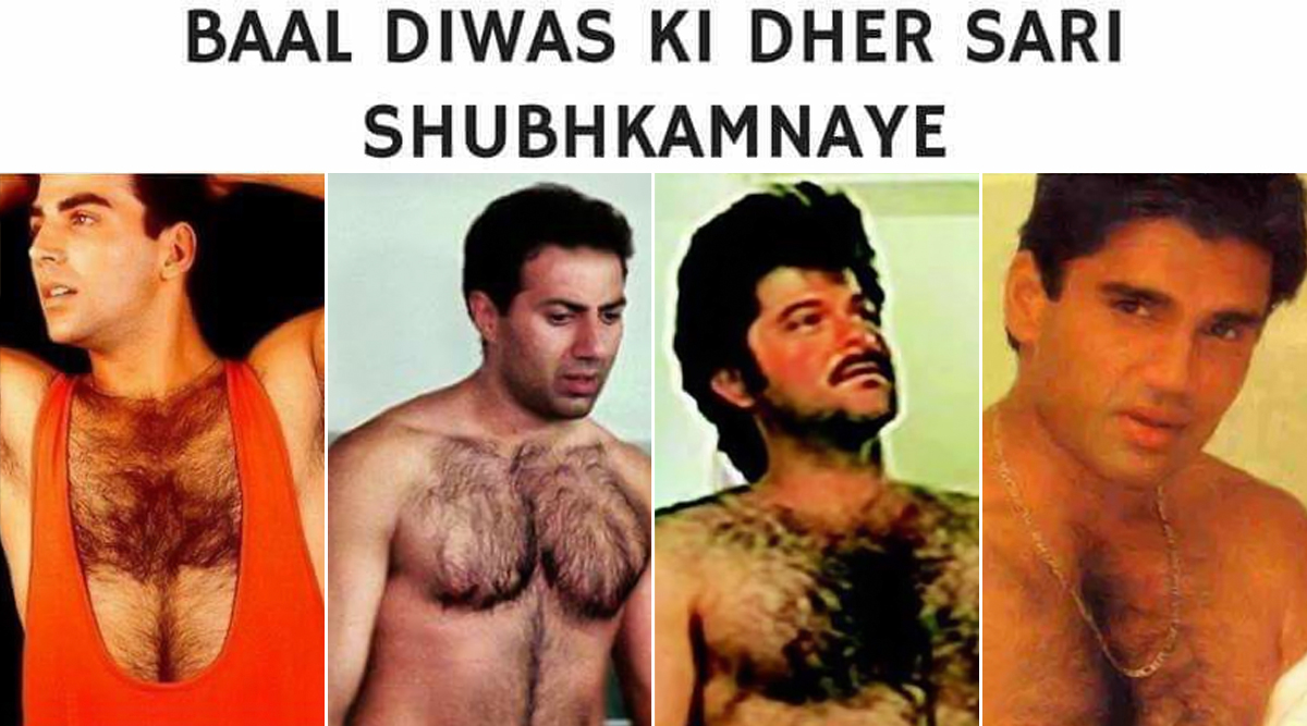 Funny 'Bal' Diwas Memes and Jokes: What Is Children's Day Without Anil Kapoor's Chest Hair Jokes? Check out the Best Ones