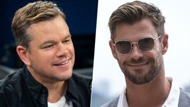 Ford v Ferrari Star Matt Damon Recalls Stepping on an Eight-Foot Python While Visiting Chris Hemsworth in Australia