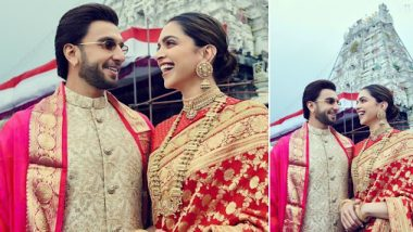 Deepika Padukone's Post On Her First Wedding Anniversary With Ranveer Singh Is All About Gratitude And The Almighty