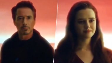 Avengers: Endgame - This Deleted Scene Shows Robert Downey Jr's Tony Stark Having a Heartfelt Conversation with his Grown-up Daughter, Morgan (Watch Video)