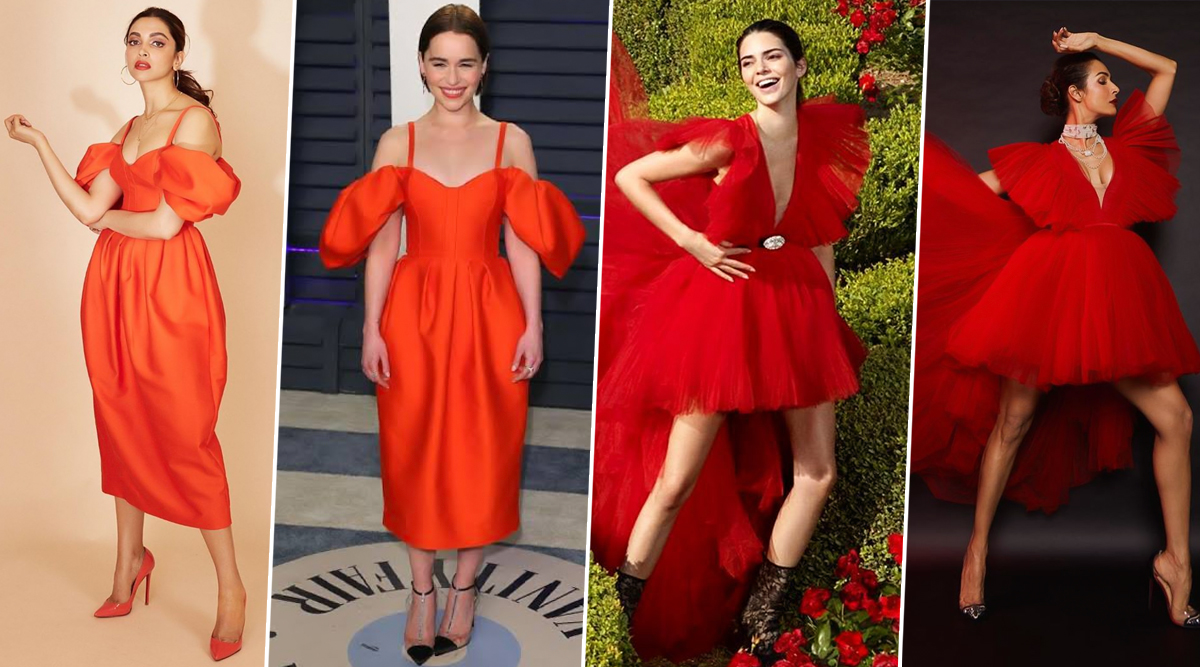Fashion Face-Off! Malaika Arora Vs Kendall Jenner and Deepika Padukone Vs Emilia Clarke - Whose Red Hot Avatar Did You Love the Most?