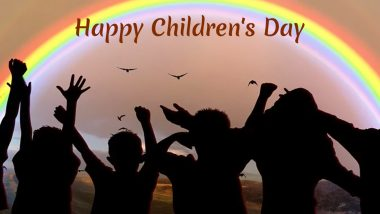 Children's Day 2019 Wishes & Images: Happy Bal Diwas Messages, WhatsApp Stickers, SMS, Greetings and Chacha Nehru Quotes to Share on November 14
