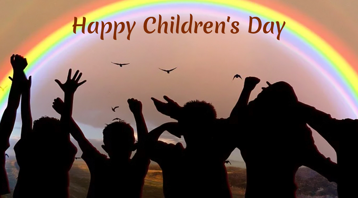 Universal Children's Day 2019 Wishes: WhatsApp Stickers, GIF Images, Happy Children's Day Messages, Facebook Greetings, Insta Captions and SMSes to Send on This Global Event